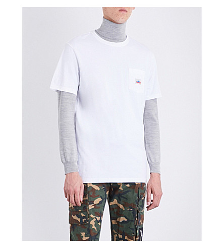 PENFIELD Brand-patch cotton-jersey T-shirt (White