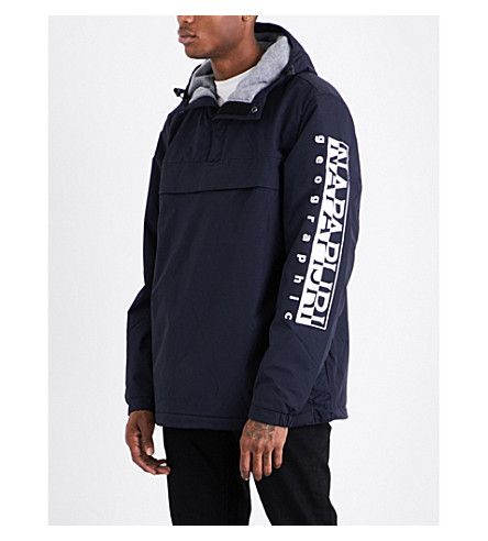 NAPAPIJRI Asher shell jacket (Blue+marine