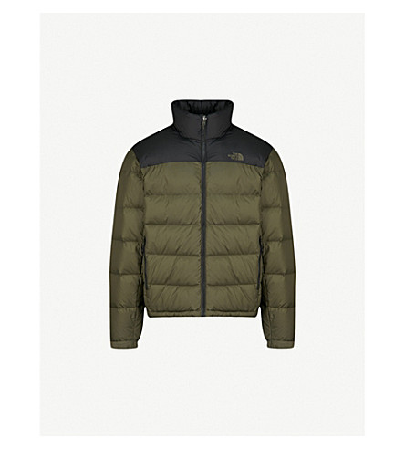 THE NORTH FACE Nuptse 2 shell-down jacket (Blk/+taupe++grn
