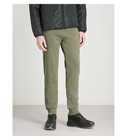 THE NORTH FACE Logo-print tech-jersey jogging bottoms (Taupe++grn