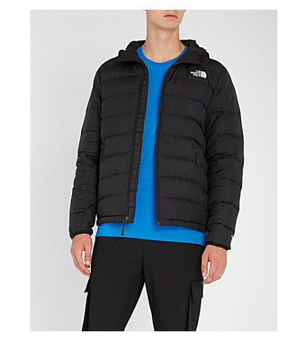 THE NORTH FACE La Paz hooded shell and down jacket (Tnf+black