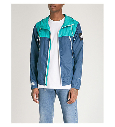 THE NORTH FACE 1990 Seasonal Mountain sheel jacket (Blue+wing+teal+green