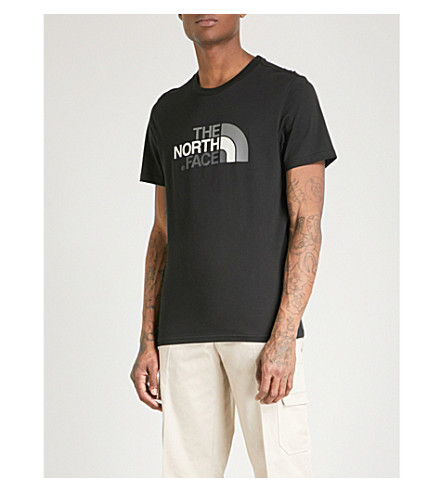 THE NORTH FACE Logo-print cotton-jersey T-shirt (Blk