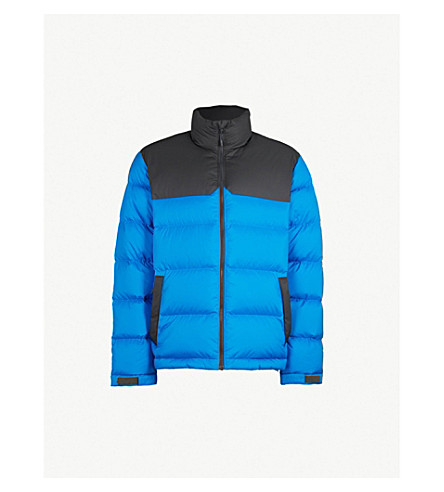 THE NORTH FACE 1992 Nuptse shell and down jacket (Blue/grey blk