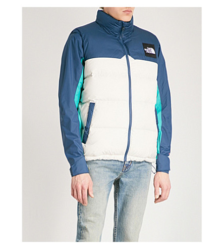 THE NORTH FACE 1992 Nuptse shell-down gilet (Teal/white