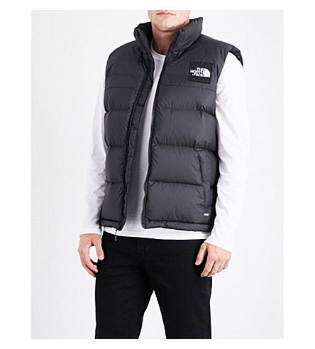 THE NORTH FACE 1992 Nuptse shell-down vest (Tnf+black