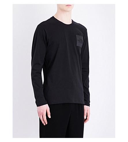 THE NORTH FACE Logo-print cotton-jersey T-shirt (Tnf+black