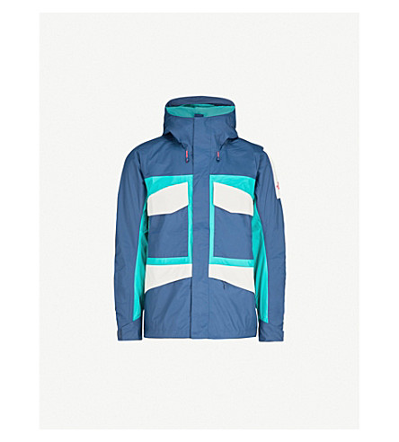 THE NORTH FACE Fantasy Ridge shell jacket (Teal/grn/wht