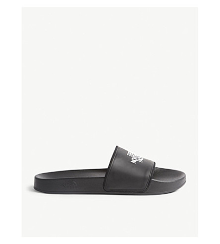 THE NORTH FACE Base Camp II logo sliders (Blk/+white