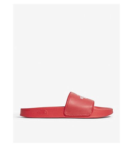THE NORTH FACE Base Camp II sliders (Red/+white