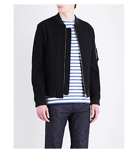A.P.C. Felix cotton jacket (Noir+lzz