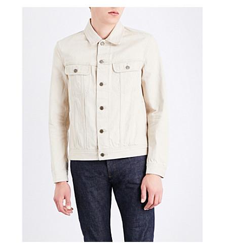 A.P.C. Benjamin denim jacket (Beige