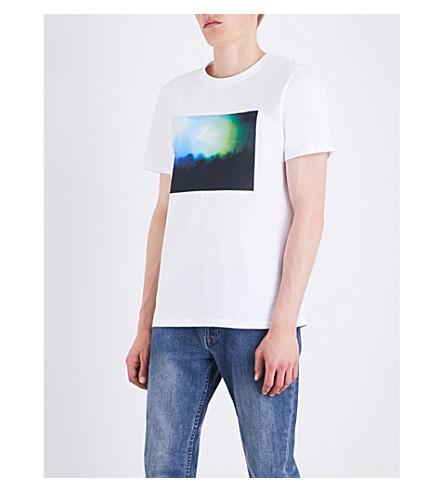 A.P.C. Gig cotton-jersey T-shirt (Blanc