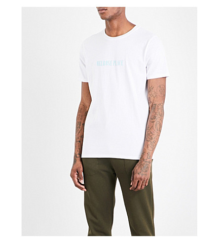 A.P.C. Melrose Place cotton-jersey T-shirt (Blanc