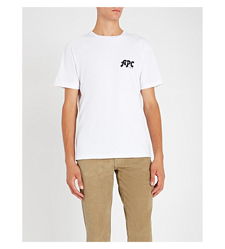 A.P.C. Richie logo-print cotton-jersey T-shirt