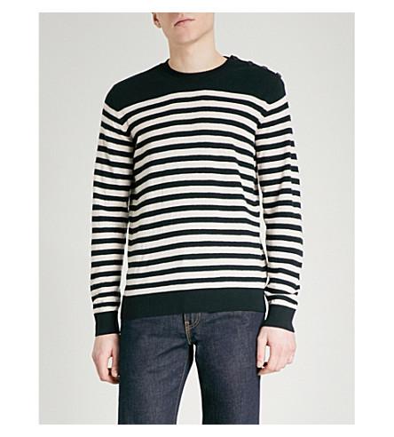 A.P.C. Skye wool jumper (Dark+navy