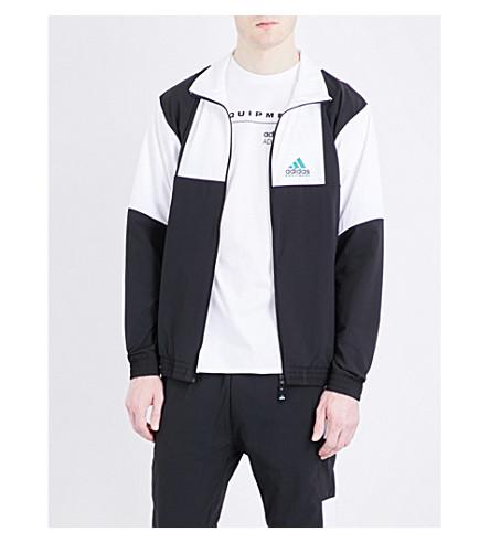 ADIDAS Cotton-blend jacket (Black/white