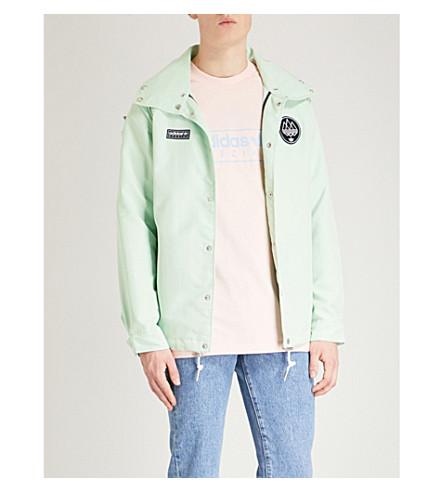ADIDAS Livesey shell jacket (Mist+jade+f15-st