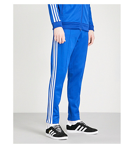 ADIDAS Beckenbauer cotton-blend jogging bottoms (Collegiate+royal