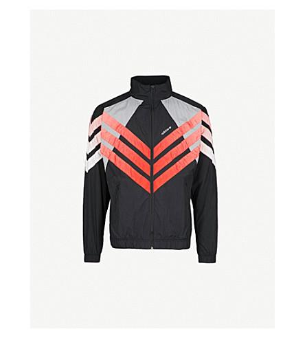 ADIDAS Tironti shell windbreaker jacket (Black/grey/red