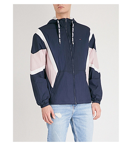 Black Athletic TOMMY TOMMY JEANS shell JEANS iris jacket multi Ydtqx5