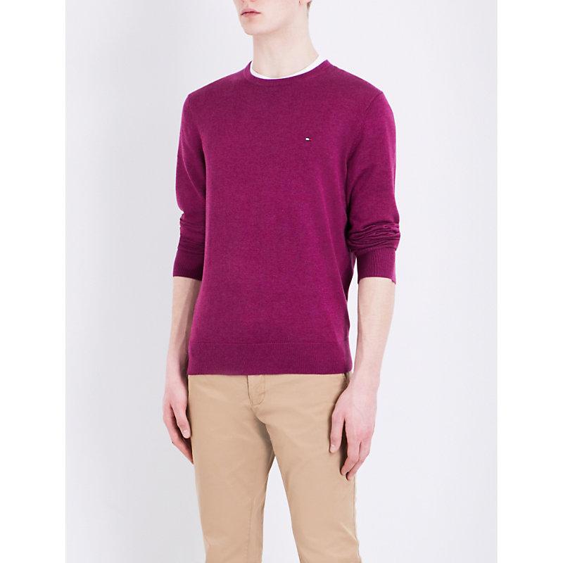 Crewneck knitted jumper