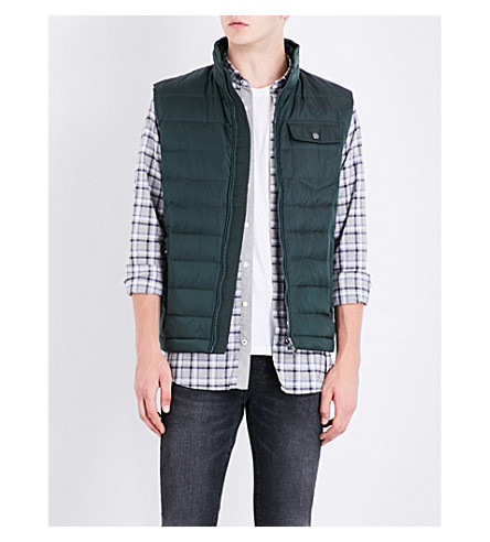 TOMMY HILFIGER Chad quilted gilet (Scarab