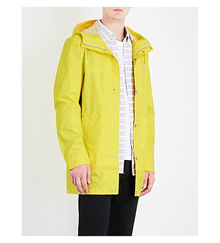 TOMMY HILFIGER Ranger hooded shell coat (Blazing+yellow