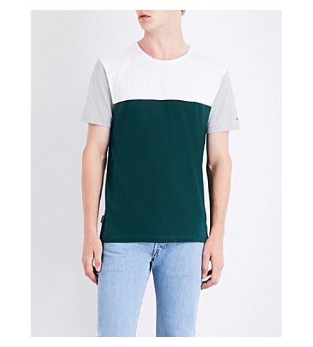 TOMMY HILFIGER Stan cotton T-shirt (Ponderosa+pine