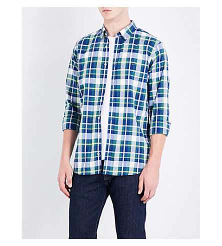 TOMMY HILFIGER Ifan slim-fit cotton shirt (Mediterranea