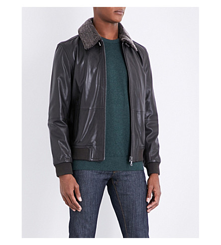 TOMMY HILFIGER Julius leather jacket (Delicioso