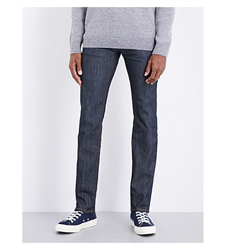 TOMMY HILFIGER Denton regular-fit straight jeans (Breese+raw