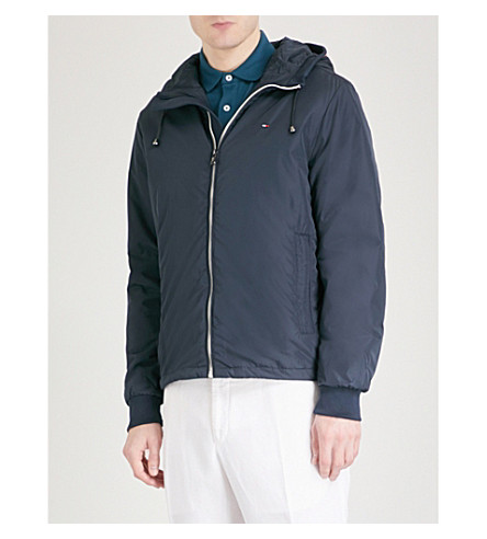 TOMMY HILFIGER Zake hooded shell jacket (Sky+captain