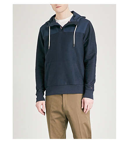 TOMMY HILFIGER Bobby cotton-blend hoody (Sky+captain