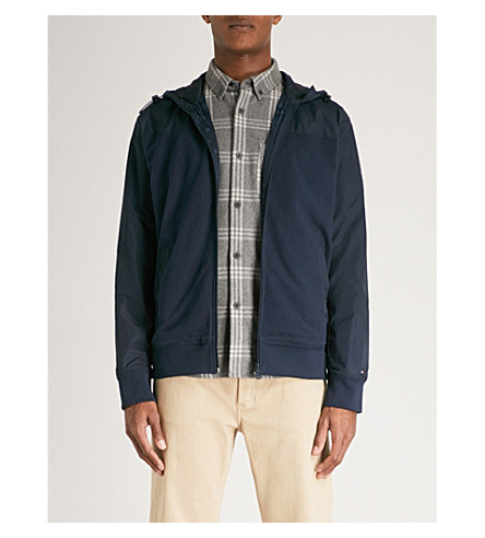 TOMMY HILFIGER Reversible cotton and shell jacket (Sky+captain