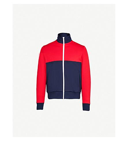 TOMMY HILFIGER Colour-block jersey jacket (Navy+blazer/multi