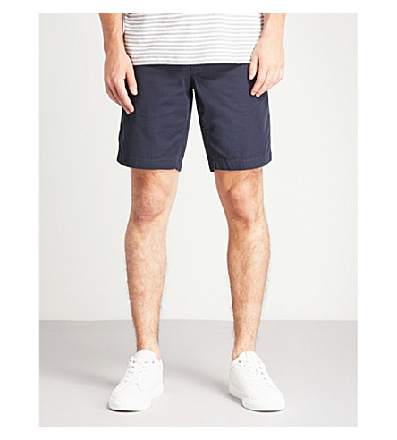 TOMMY HILFIGER Brooklyn classic-fit cotton shorts (Sky captain