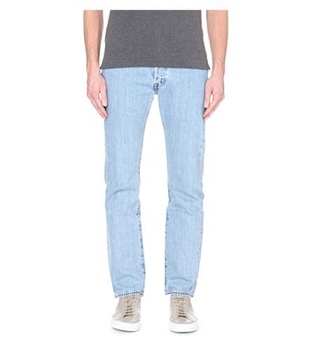 LEVI'S 501 常规版型中腰牛仔裤 (它 + 破碎 + 在