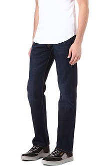 LEVI'S 501 wool-blend regular-fit straight jeans