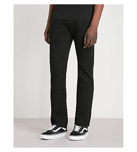 LEVI straight Black S mid LEVI rise Original S jeans 501 dxFpSq