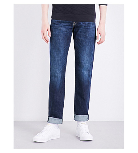 LEVI'S 511 slim-fit tapered jeans (Rain+shower