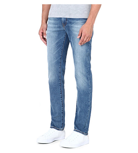 LEVI'S 511 slim-fit stretch-denim jeans (Blue