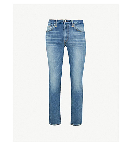 LEVI'S 511 slim-fit stretch-denim jeans (Lt+blue