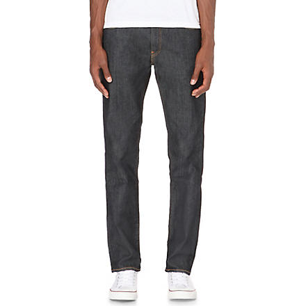 LEVI'S Stretch-denim slim-fit jeans (Indigo
