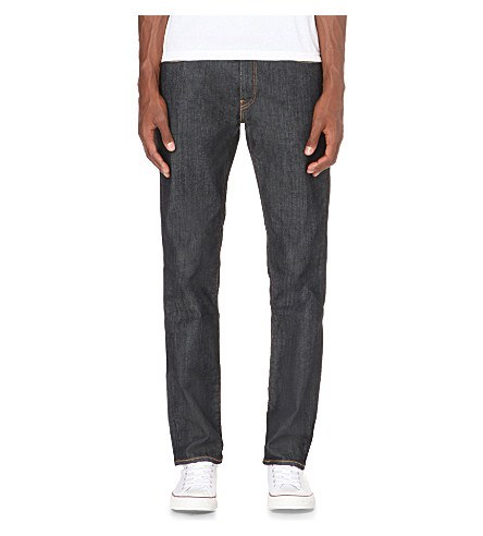 LEVI'S Stretch-denim slim-fit jeans (Indigo