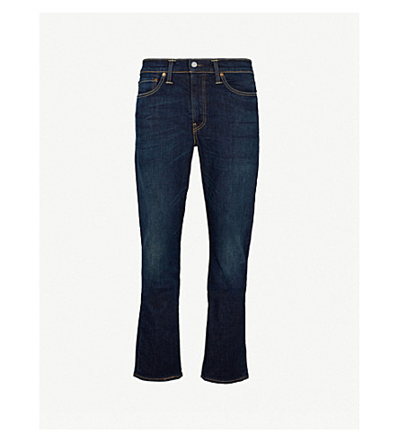 LEVI'S 511 slim-fit tapered jeans (Mid+blue