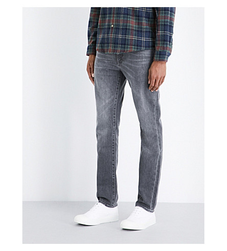 LEVI'S 511 slim-fit stretch-denim jeans (Berry+hill