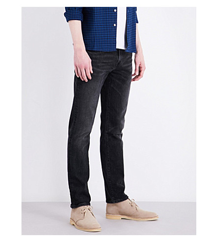 LEVI'S 511 slim-fit tapered stretch-denim jeans (Bushwick+collective