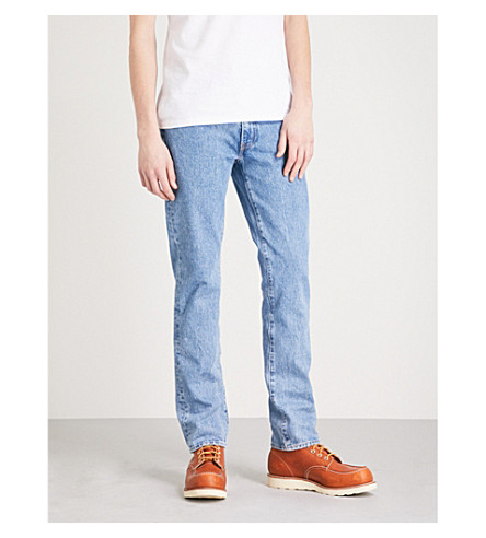 LEVI'S 511 slim-fit straight jeans (Stoned+poppy