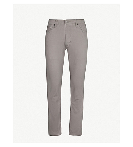 LEVI'S 511 slim-fit tapered jeans (Steel grey